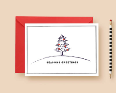 Modern Minimal Rustic Christmas Custom  Cards, Christmas Card Template, Black and Red Holiday Cards, Printable or Printed, FREE SHIPPING