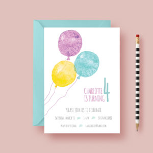 child-birthday-invite-balloons-styled
