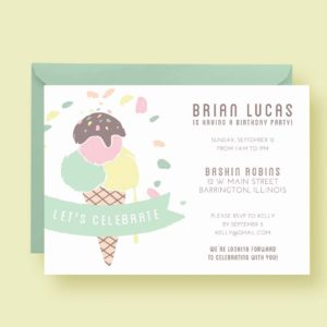 child-birthday-invite-ice-cream-styled