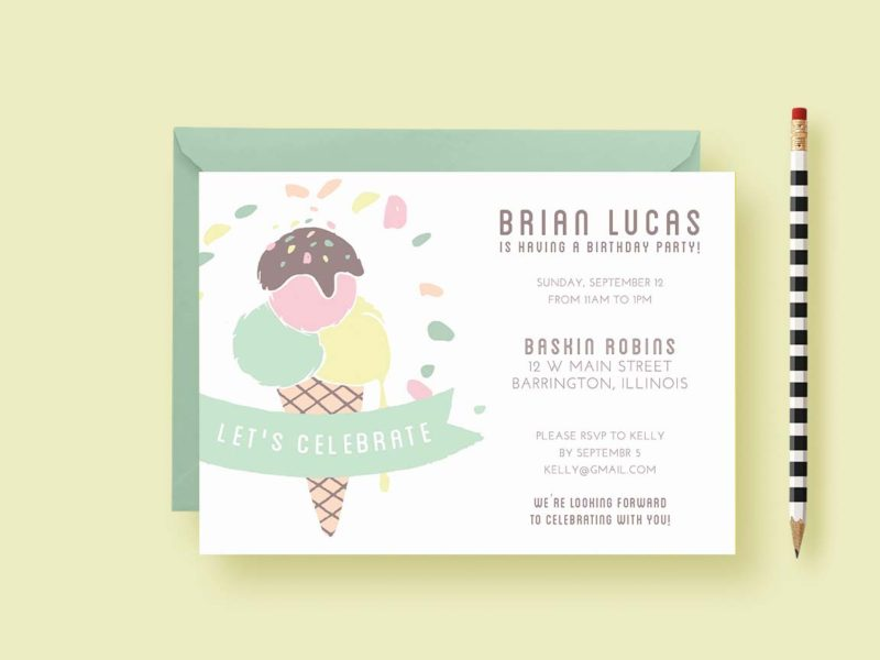 child-birthday-invite-ice-cream-styled