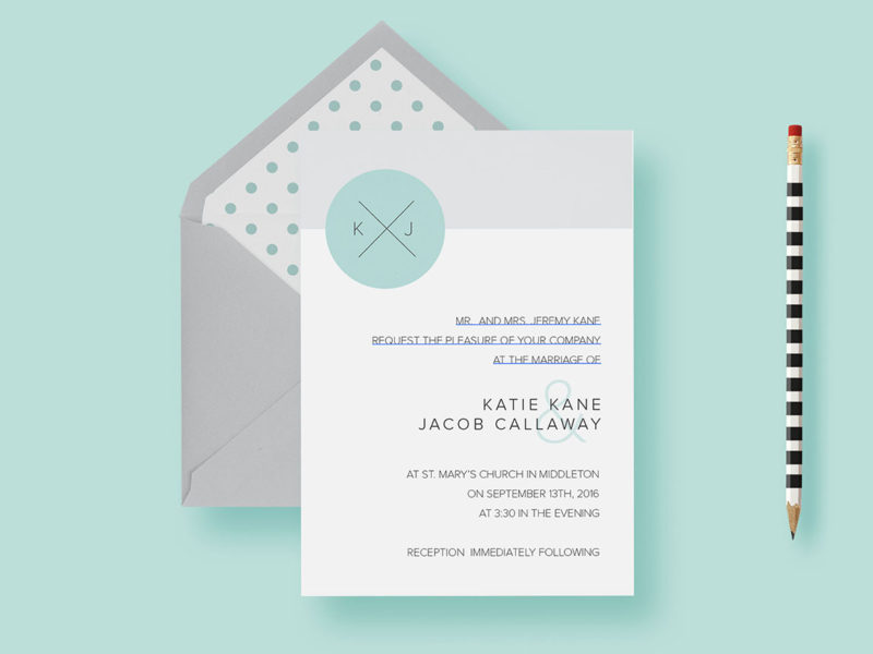 wedding-invitation-clean-simple-and-modern-circle-invite-styled